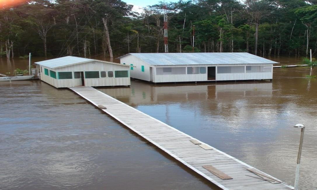 Bape Jandiatuba, no Vale do Javali, Amazonas Foto: Divulgação / Funai