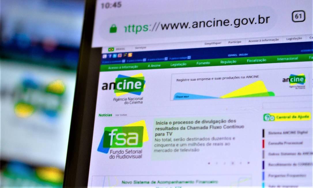 Ancine Foto: Agência O Globo
