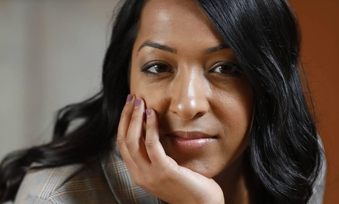 A americana Sana Amanat, vice-presidente de conteúdo da Marvel Foto: ANA BRANCO / Agência O Globo