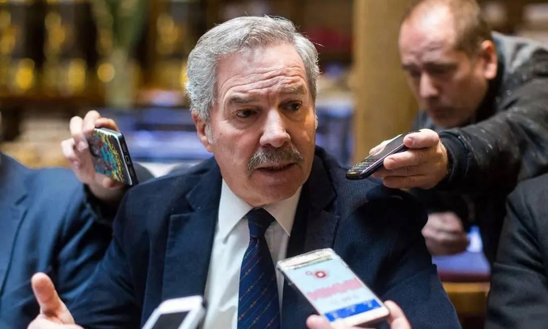 """Felipe Solá, chanceler de Fernández, em relação ao governo brasileiro: """"Para brigar são necessários dois"""" Foto: La Nación/GDA"""