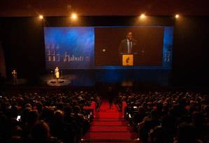 61º Prêmio Jabuti, em São Paulo Foto: Jefferson Coppola / Agência O Globo
