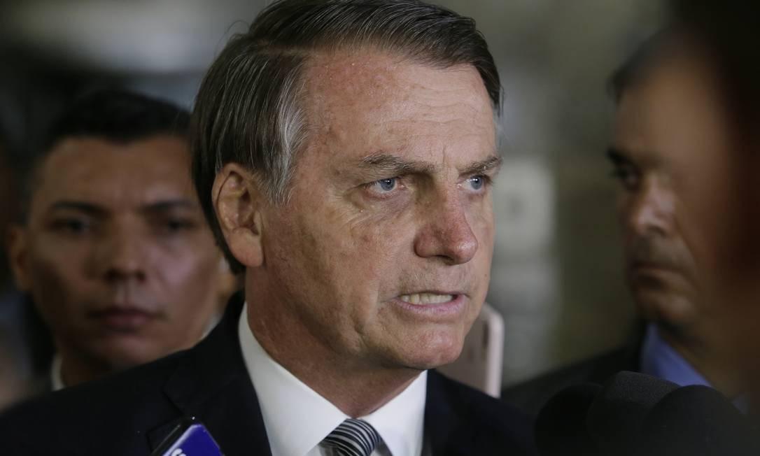 Jair Bolsonaro Foto: Antonio Scorza / Agência O Globo