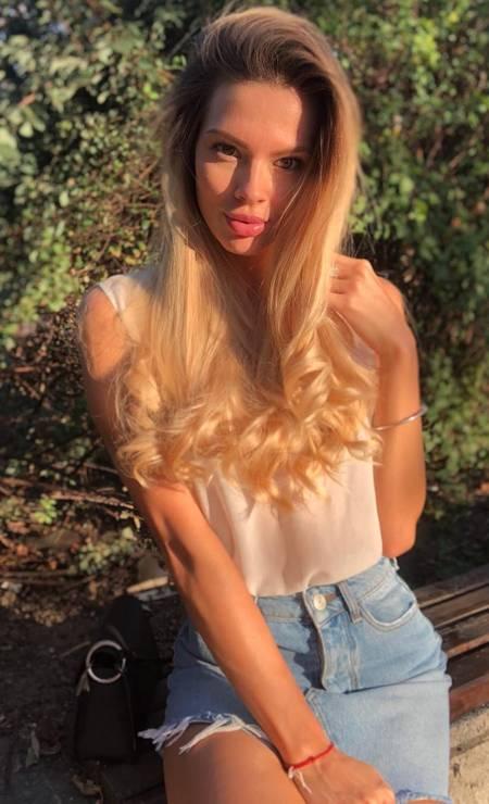 Bulgária: Lora Asenova, 25 anos, formada em Ciência da Computação Foto: Reprodução / Instagram