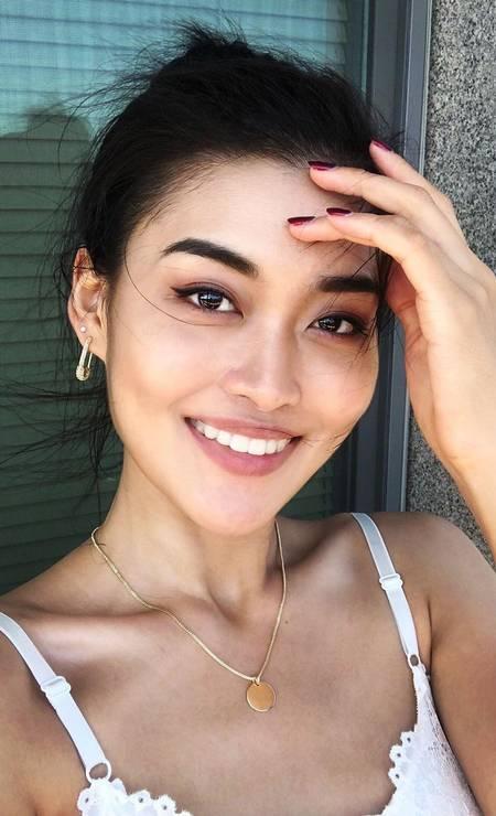 China: Zhu Xin, 26 anos, maquiadora Foto: Reprodução / Instagram