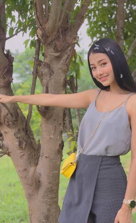 Myanmar: Swe Zin Thet, 20 anos, Modelo Foto: Reprodução / Instagram
