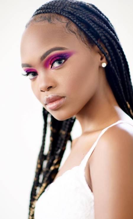 Quênia: Stacy Michuki, 18 anos, Modelo Foto: Reprodução / Instagram