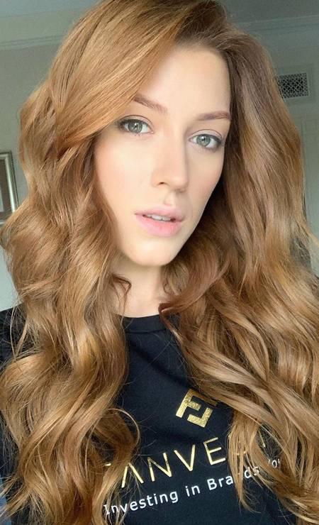 Ucrânia: Anastasiia Subbota, 26 anos, formada em web design Foto: Reprodução / Instagram