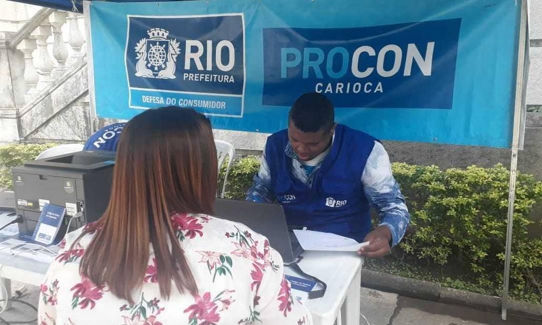 Procon Carioca faz mutirão para resolver problemas de consumo e renegociar dívidas: 22 empresas vão participar Foto: Divulgação