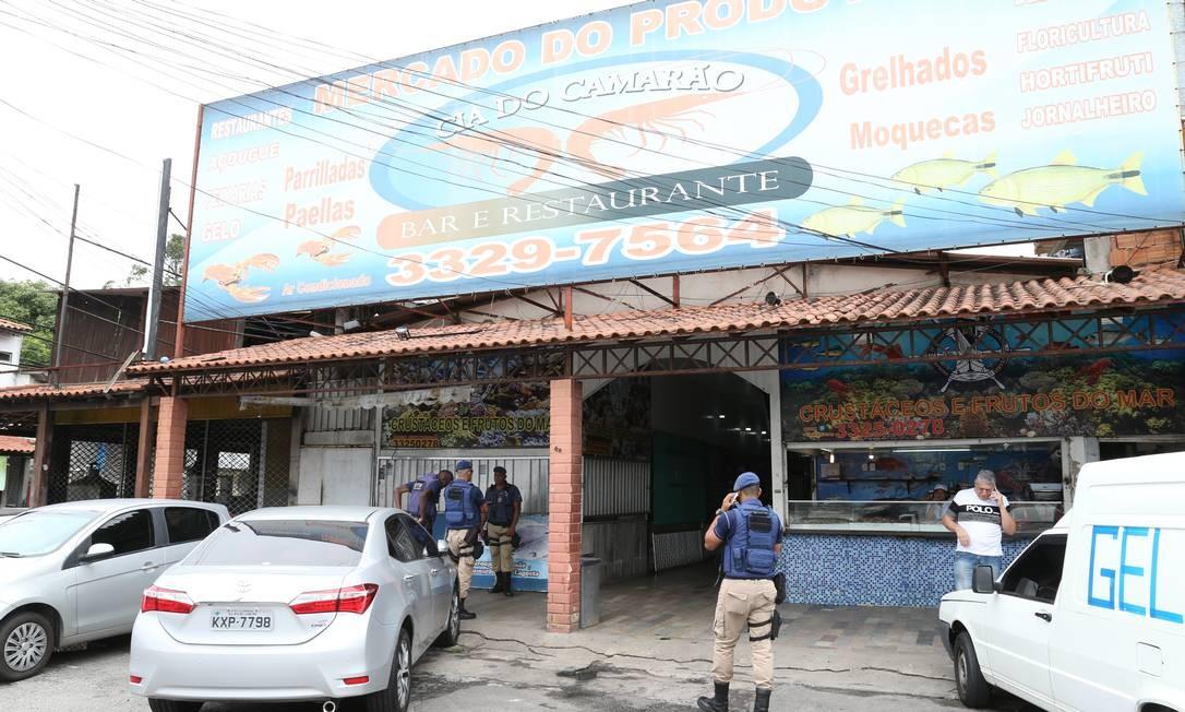 Mercado Produtor, na Barra, é alvo de operação Foto: Pedro Teixeira / Agência O Globo