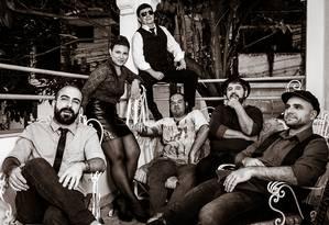 A banda The Calangles, que se apresenta na Beatleweek de Liverpool desde 2014, é uma das atrações Foto: Gustavo S. Bressan / Divulgação