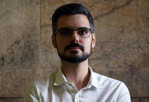 O sociólogo Pedro Ferreira de Souza. Foto: Daniel Marenco / Agência O Globo