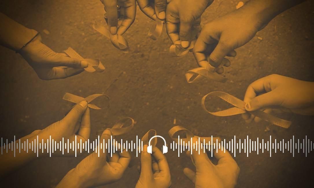 Campanha marca o Dia Mundial de Luta contra a Aids Foto: Arte