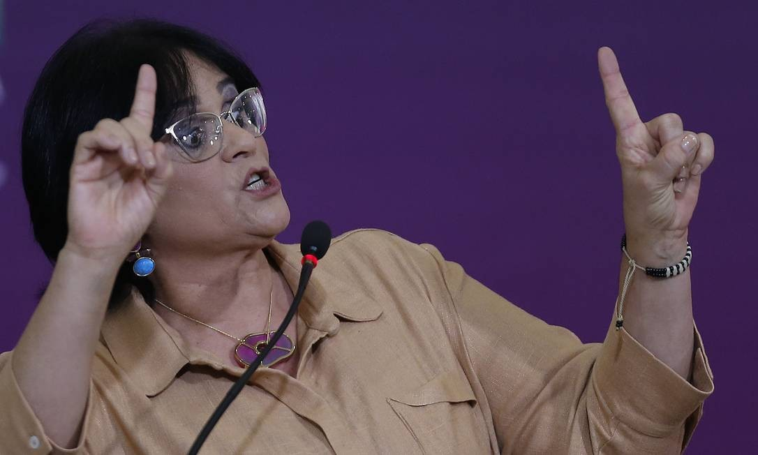 Damares mandou ofício para o procurador-geral da República Foto: Jorge William / Agência O Globo
