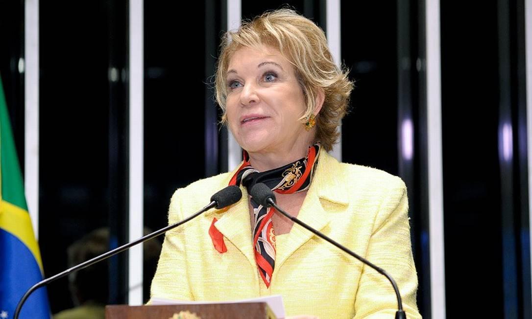 A ex-prefeita de SP e ex-senadora Marta Suplicy Foto: Agência Senado
