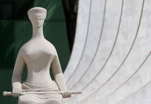 A fachada do Supremo Tribunal Federal 13/04/2018 Foto: Michel Filho / Agência O Globo