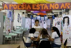 Escola Adlai Stevenson, em Irajá, é destaque no Ideb Foto: Custódio Coimbra / Agência O Globo