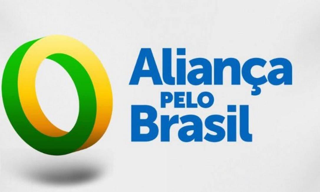 Logomarca do partido Aliança pelo Brasil Foto: Reprodução