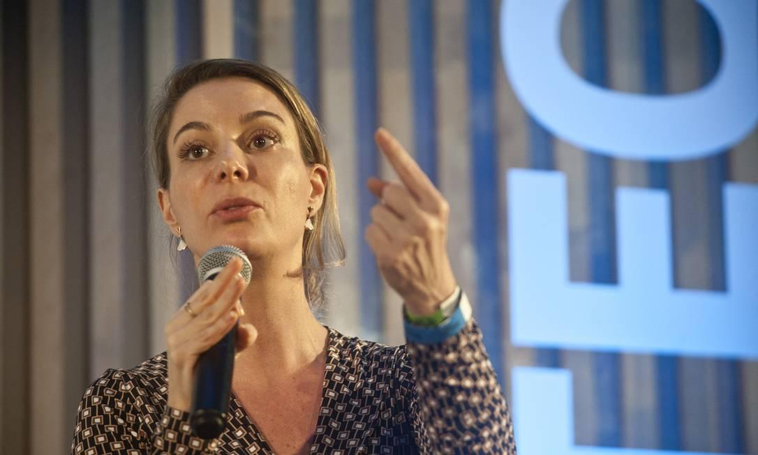 Priscila Cruz, presidente-executiva do Todos Pela Educação Foto: Adriana Lorete / Agência O Globo