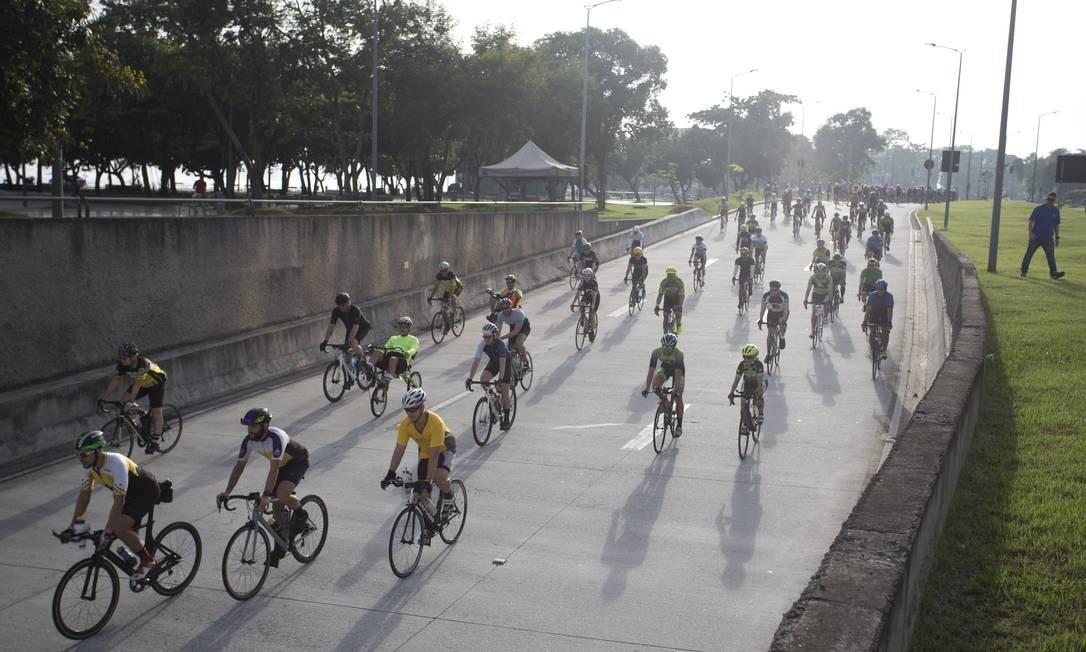 A terceira APPC do Rio, a da Zona Portuária, é vizinha à Área de Proteção ao Ciclismo de Competição do Aterro do Flamengo, na Zona Sul Foto: Márcia Foletto / Agência O Globo