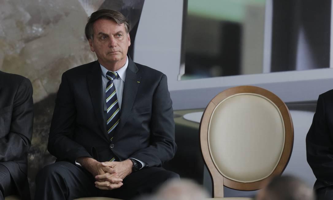 Presidente da República, Jair Bolsonaro Foto: Domingos Peixoto / Agência O Globo