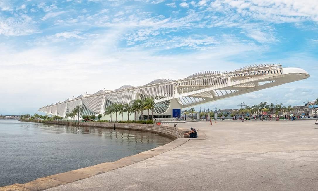 Museu do Amanhã modernizou área portuária Foto: divulgação