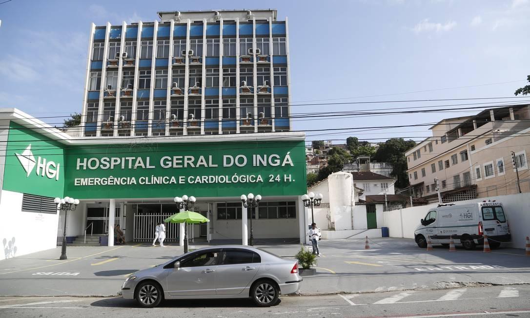 Fachada do HGI: após decisão unilateral da Unimed, unidade deixará de atender pacientes do plano Foto: Fábio Guimarães 24-9-2019 / Agência O Globo