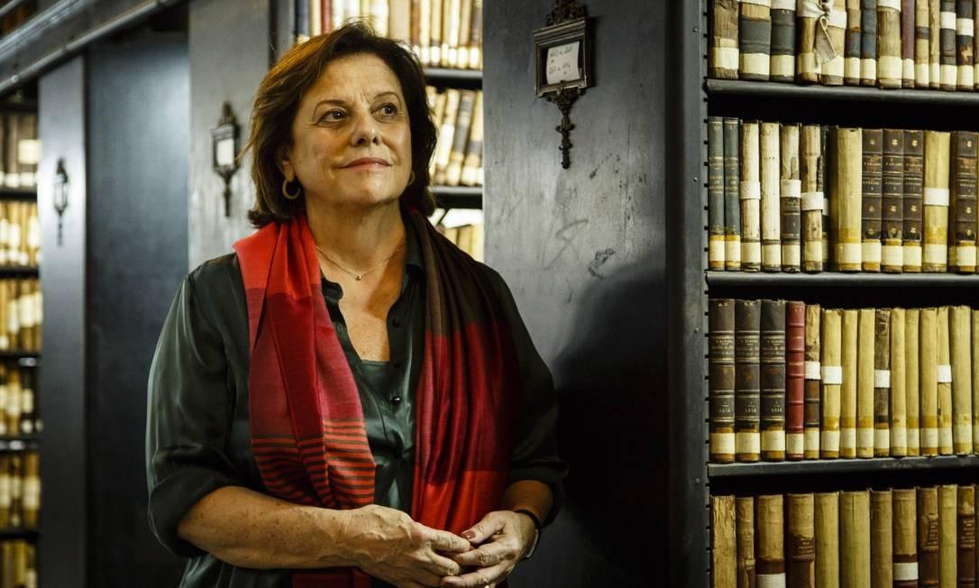 Helena Severo foi exonerada da presidência da Biblioteca Nacional Foto: Fernando Lemos / Agência O Globo