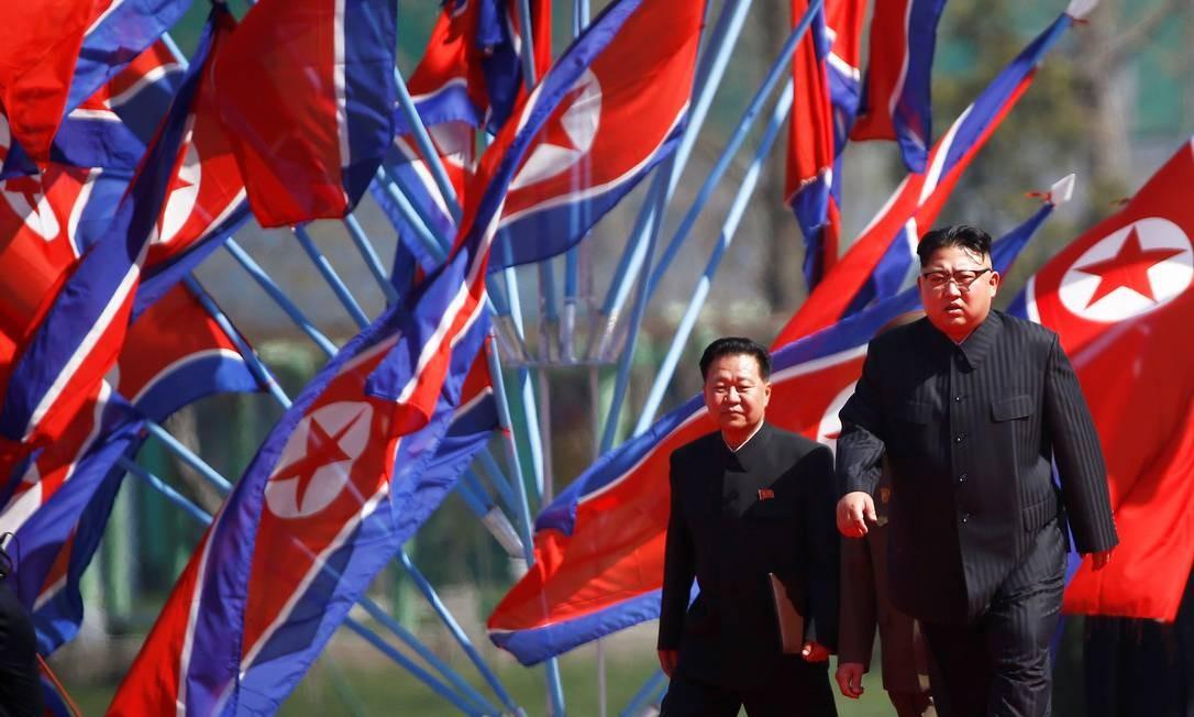 Investigadores afirmam que informações sobre blockchain e criptomoedas podem ser usadas para burlar sanções econômicas e financia os planos nucleares de Kim Jong-un Foto: DAMIR SAGOLJ / Reuters