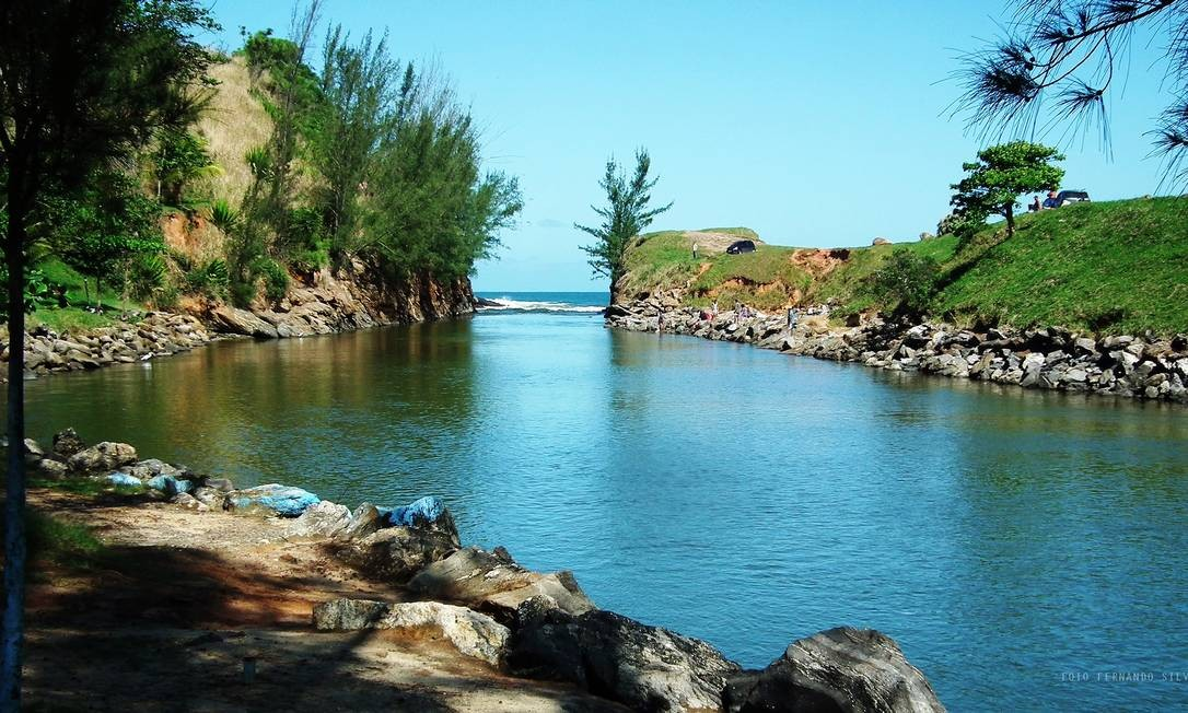 Canal da Ponta Negra, em Maricá Foto: divulgação