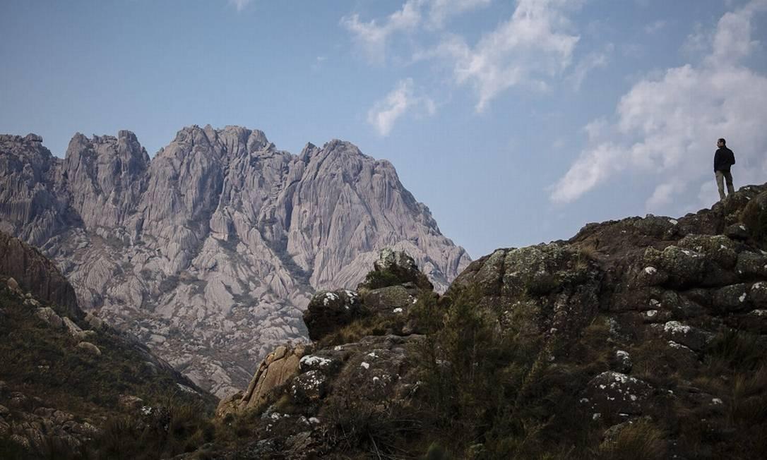 Pico das Agulhas Negras no Parque Nacional de Itatiaia Foto: Fernando Lemos / Agência O Globo