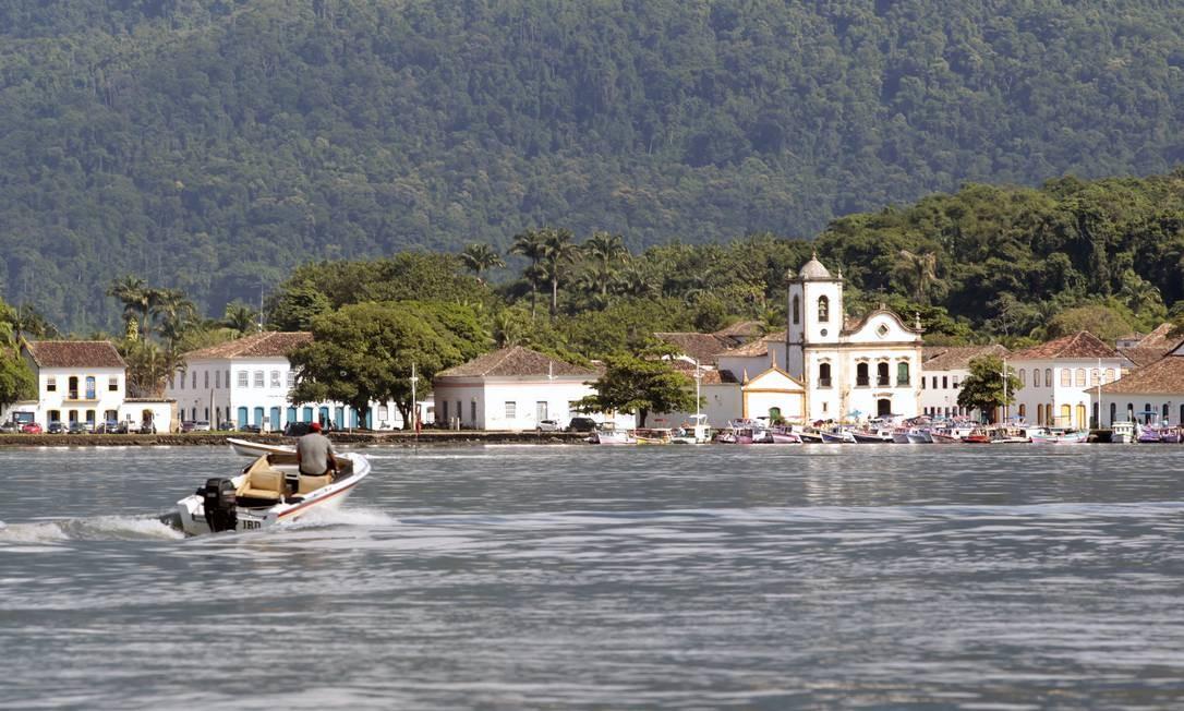 O Centro Histórico de Paraty, na Costa Verde Foto: Arquivo / 03/03/2018 / Luiz Ackermann / Agência O Globo