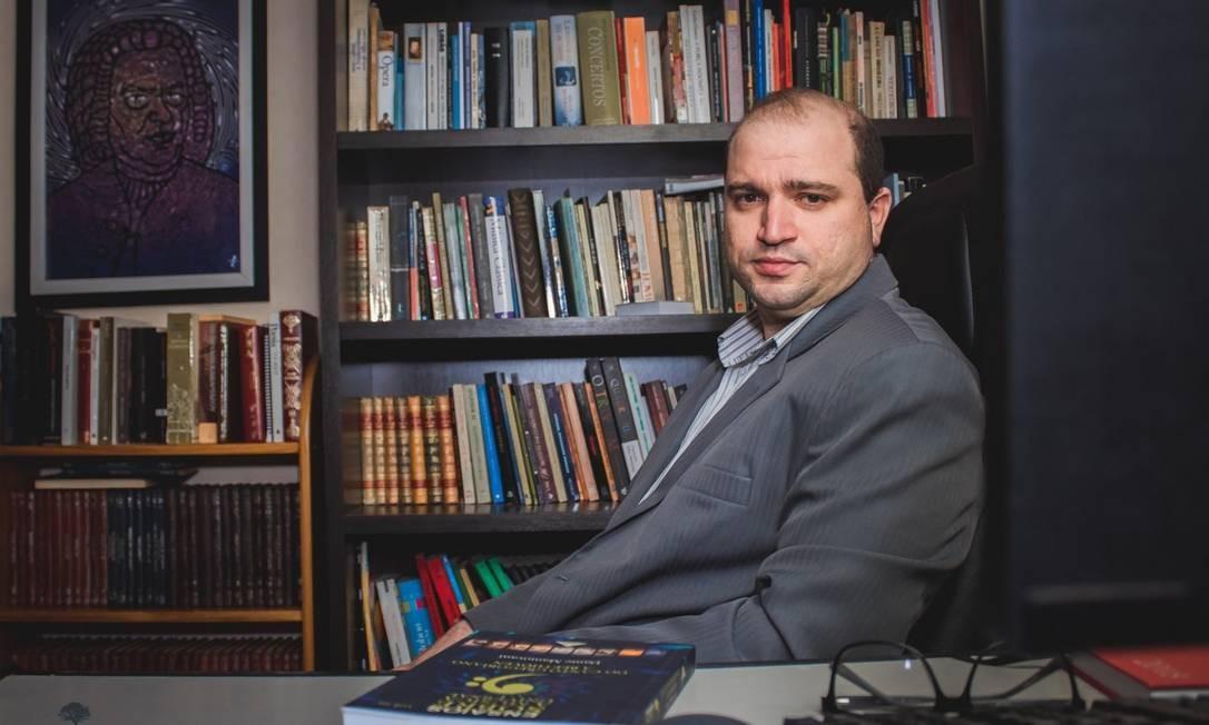 Dante Mantovani, novo presidente da Funarte, que vê o rock instrumento para levar jovens ao aborto e ao satanismo. Foto: Reprodução