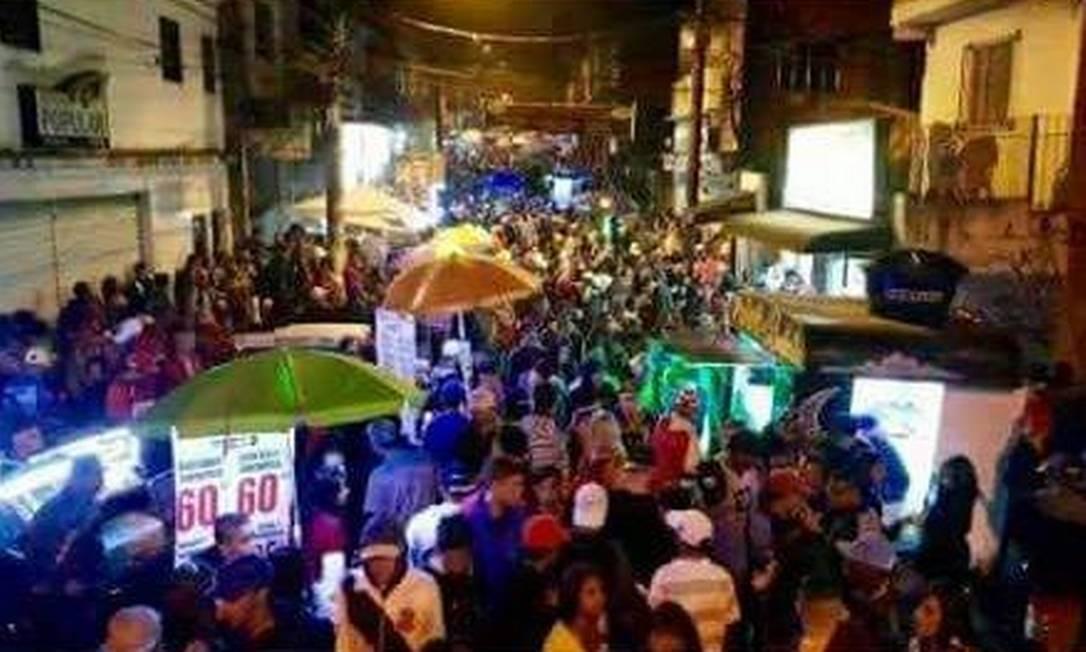 Baile da 17: moradores lamentam faltam de apoio do poder público Foto: Reprodução