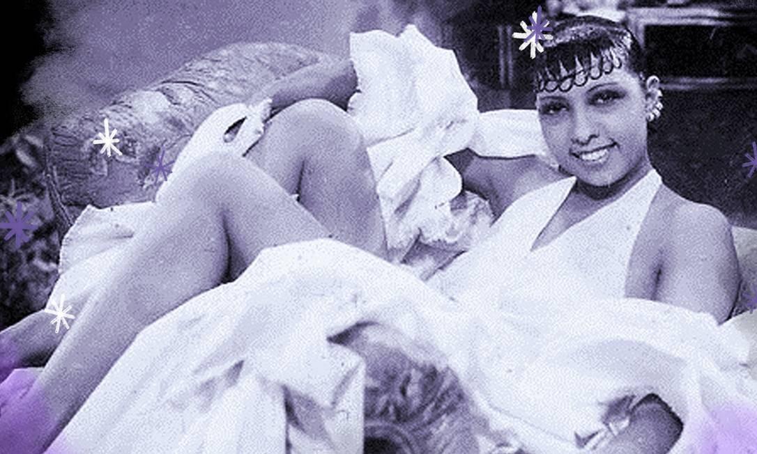 Pioneira. Josephine Baker foi a primeira grande estrela negra das artes cênicas, a primeira a protagonizar um filme, entre outros feitos Foto: Reprodução