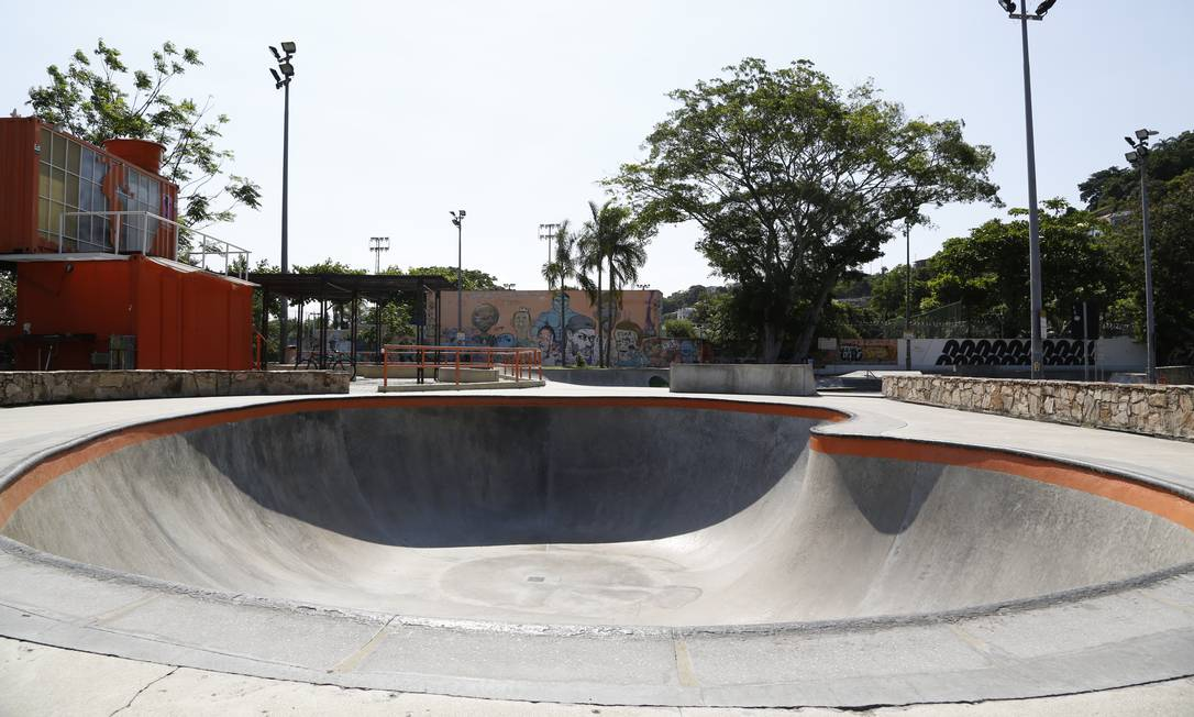 Bowl do Skatepark de São Francisco receberá competições de jam session e best trick Foto: Fabio Rossi / Agência O Globo