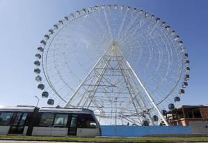 Preço dos ingressos para roda-gigante varia entre R$ 49 e R$ 59 Foto: Fábio Guimarães / Agência O Globo