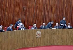 Sessão plenária administrativa do TSE Foto: Roberto Jayme / Ascom/TSE