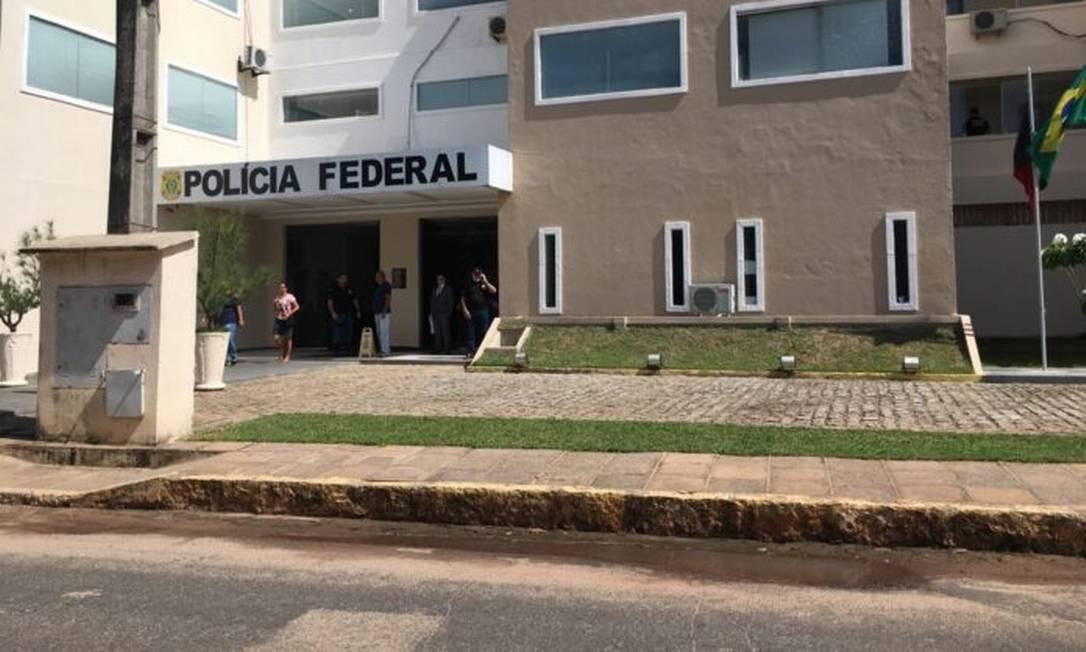 A sede da PF em Cabebelo (PB) Foto: Divulgação