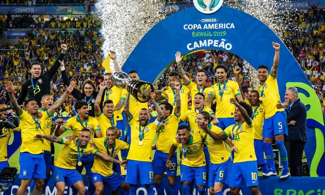 Brasil conquista a Copa América sobre o Peru no Maracanã Foto: Marcelo Régua