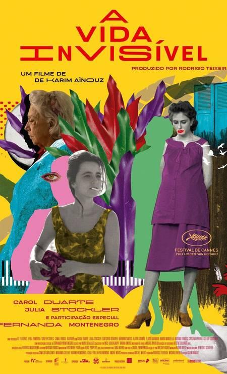 'A vída invisível' (2019): Atualmente em cartaz, filme de Karim Aïnouz com Carol Duarte e Julia Stockler foi escolhido para representar o Brasil na disputa do próximo Oscar Foto: Divulgação