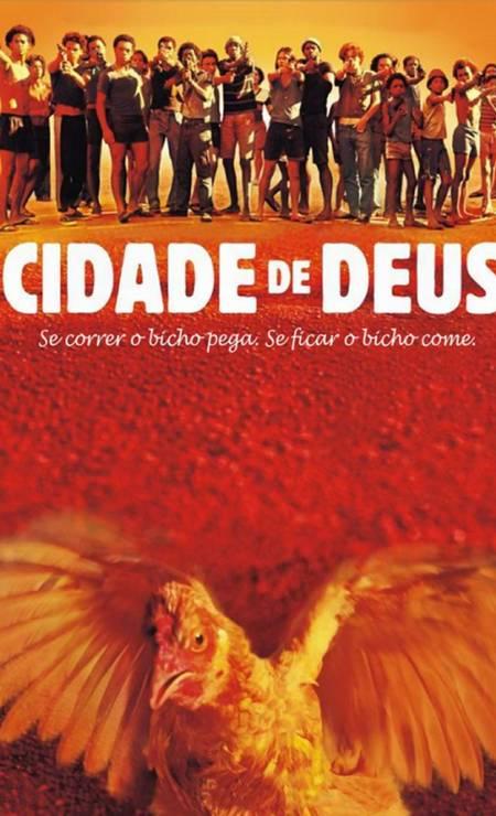 Cidade de Deus (2002): Filme de Fernando Meirelles e Kátia Lund rendeu quatro indicações ao Oscar, incluindo melhor diretor e melhor roteiro adaptado Foto: Divulgação