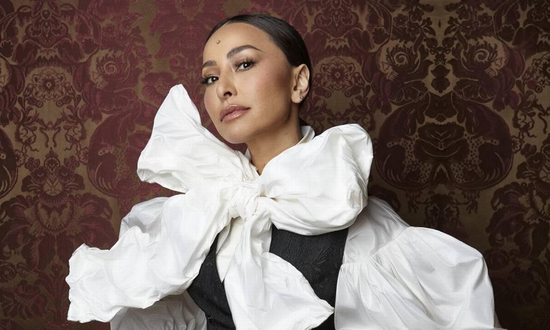 Sabrina Sato em Milão de Dolce & Gabbana Foto: Ricardo Abrahão