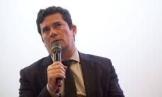 O ministro da Justiça e Segurança Pública, Sergio Moro, Foto: Adriana Lorete / Agência O Globo