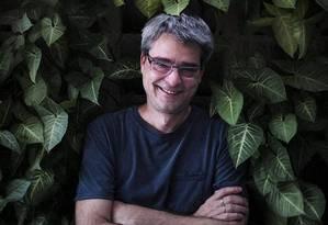 """O diretor Andrucha Waddington, que estreia o filme """"O juízo"""" Foto: Leo Aversa"""