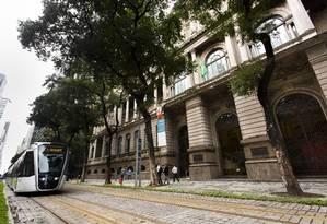 MNBA, museu federal no Rio: pesquisa do IBGE aponta uma queda de investimento público nas três esferas de governo Foto: Mônica Imbuzeiro / Agência O Globo
