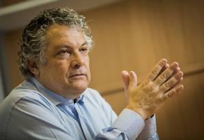 Ricardo Paes de Barros, economista-chefe do Instituto Ayrton Senna, apresentou estudo em São Paulo Foto: Anna Carolina Negri / Agência O Globo