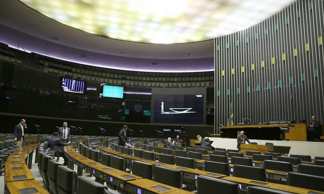 Plenário da Câmara dos Deputados: pautas próprias. Foto: Jorge William / Agência O Globo