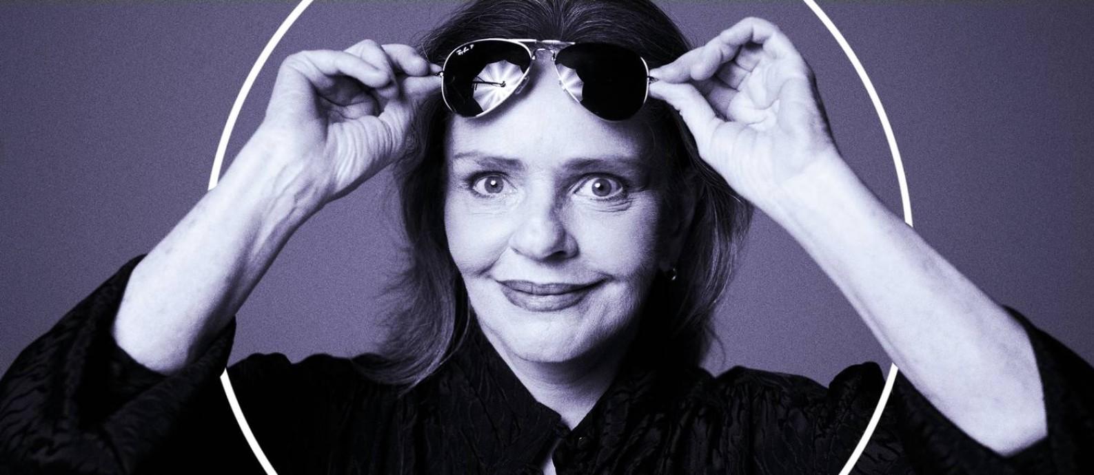 A cantora e compositora Angela Ro Ro Foto: Bob Wolfenson / Divulgação
