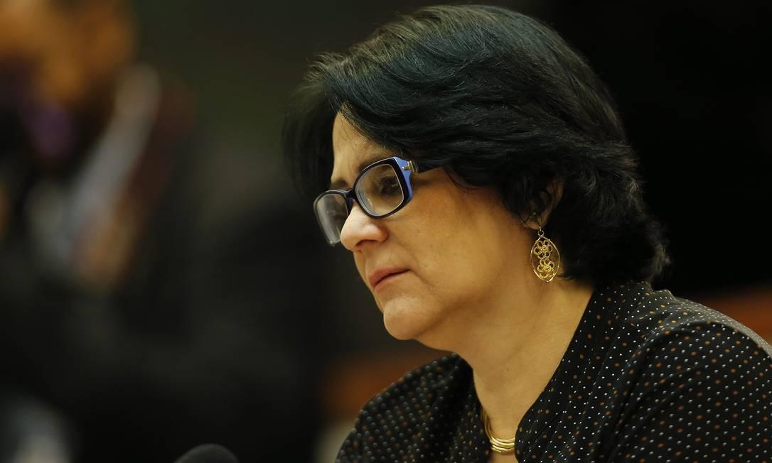 A Ministra da Mulher, Família e Direitos Humanos, Damares Alves Foto: Jorge William / Agência O Globo