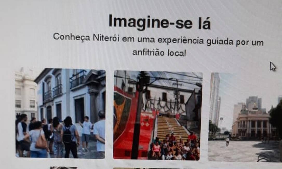 Pontos turísticos do Rio de Janeiro para promover Niterói Foto: Reprodução